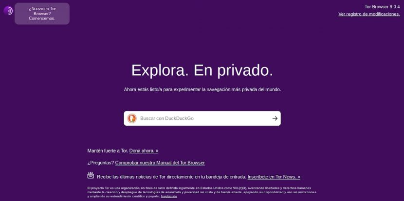 Tor Browser: Introducción