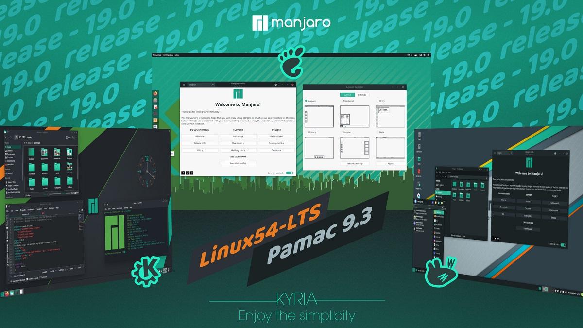"""Manjaro Linux 19.0 """"Kyria"""""""