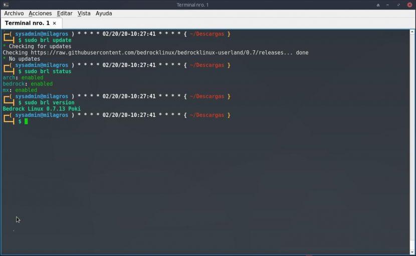 Bedrock Linux: Introducción