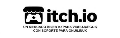 Itch.io: Un mercado abierto para videojuegos con soporte para GNU/Linux