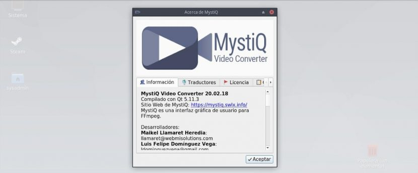 MystiQ Video Converter: Introducción
