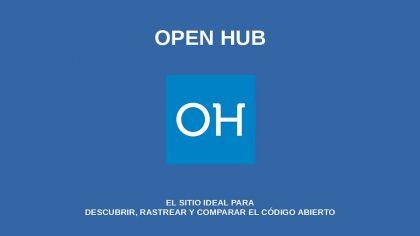 Open Hub: El sitio ideal para descubrir, rastrear y comparar el código abierto