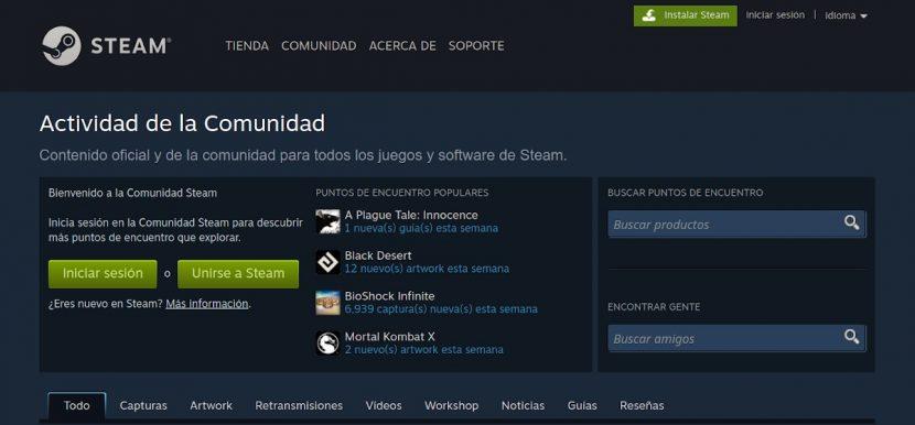 Steam: Contenido