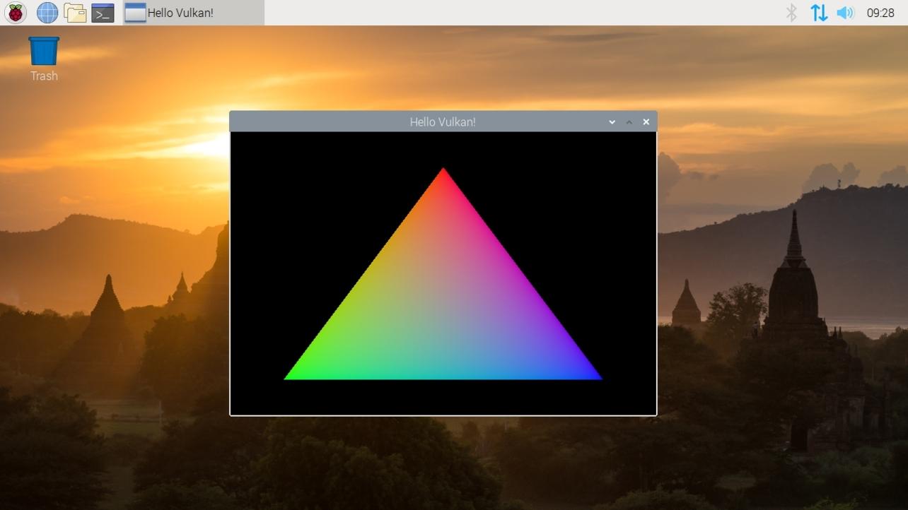 Vulkan en Raspberry Pi 4