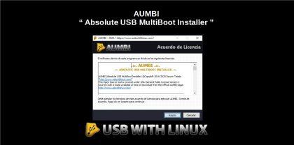 AUMBI: App de código abierto para crear un USB booteable en Windows
