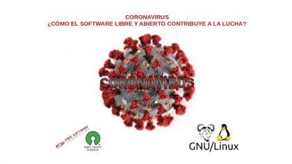 Coronavirus: ¿Cómo el Software libre y abierto contribuye a la lucha?