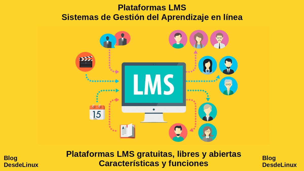 Plataformas LMS gratuitas, libres y abiertas: Características y funciones
