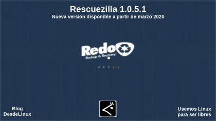 Rescuezilla 1.0.5.1: Nueva versión disponible a partir de marzo 2020