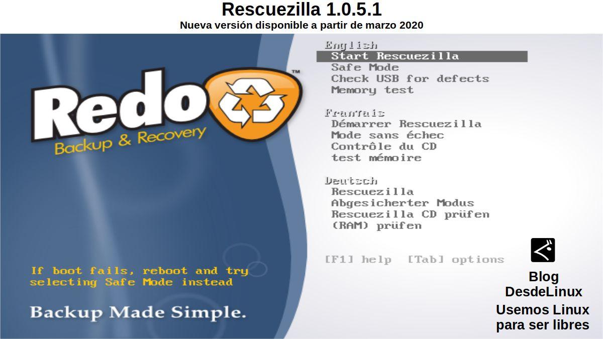 Rescuezilla 1.0.5.1: Introducción