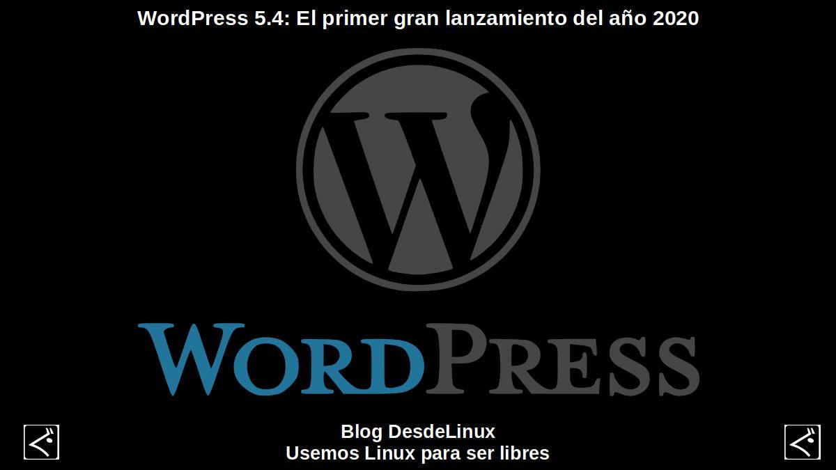 WordPress 5.4: Contenido