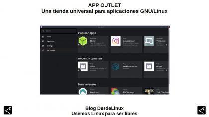 App Outlet: Una tienda universal para aplicaciones GNU/Linux