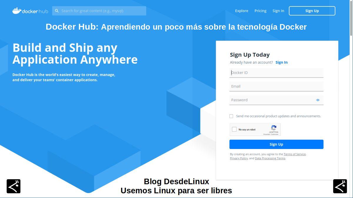 Docker Hub: Contenido