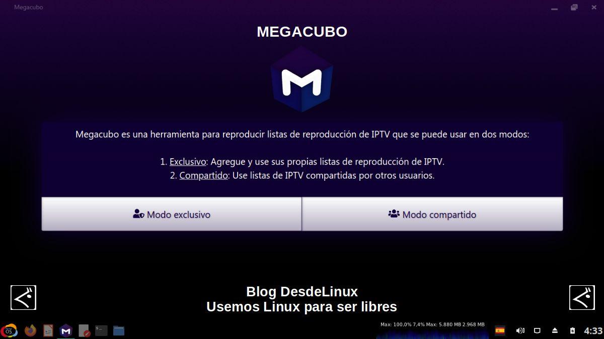 Megacubo: Contenido