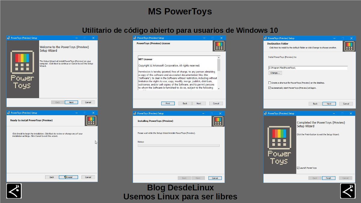 MS PowerToys: Introducción
