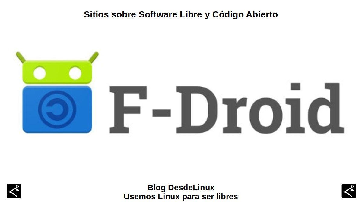 ¿Qué es F-Droid?