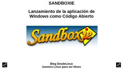 Sandboxie: Lanzamiento de la aplicación de Windows como Código Abierto