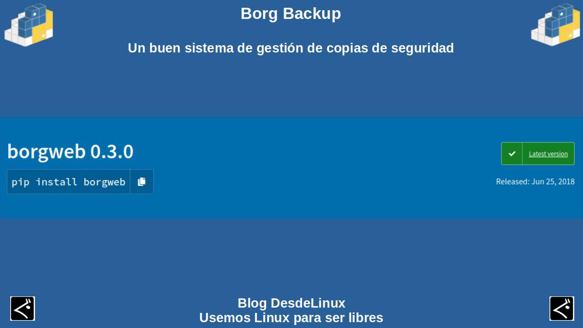 Borg Backup: Contenido