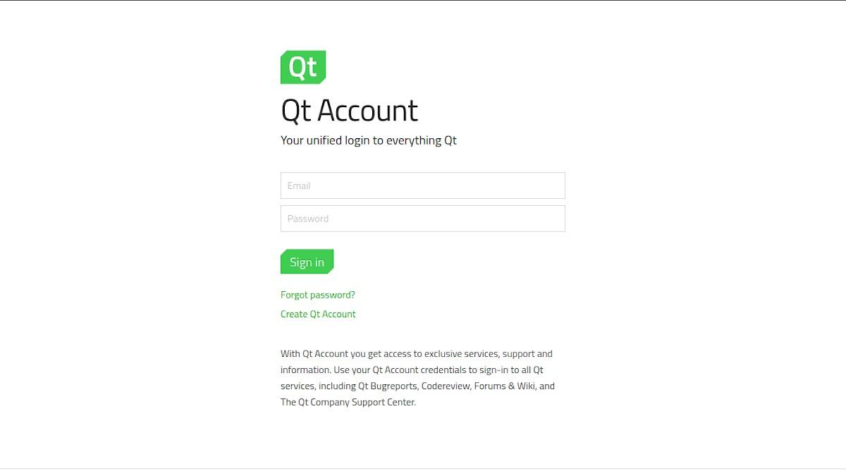 QT Creator: Instalación - Paso 1a