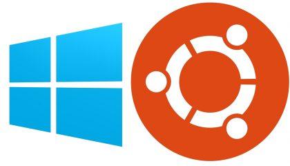 Ubuntu vs Windows 10 usuarios