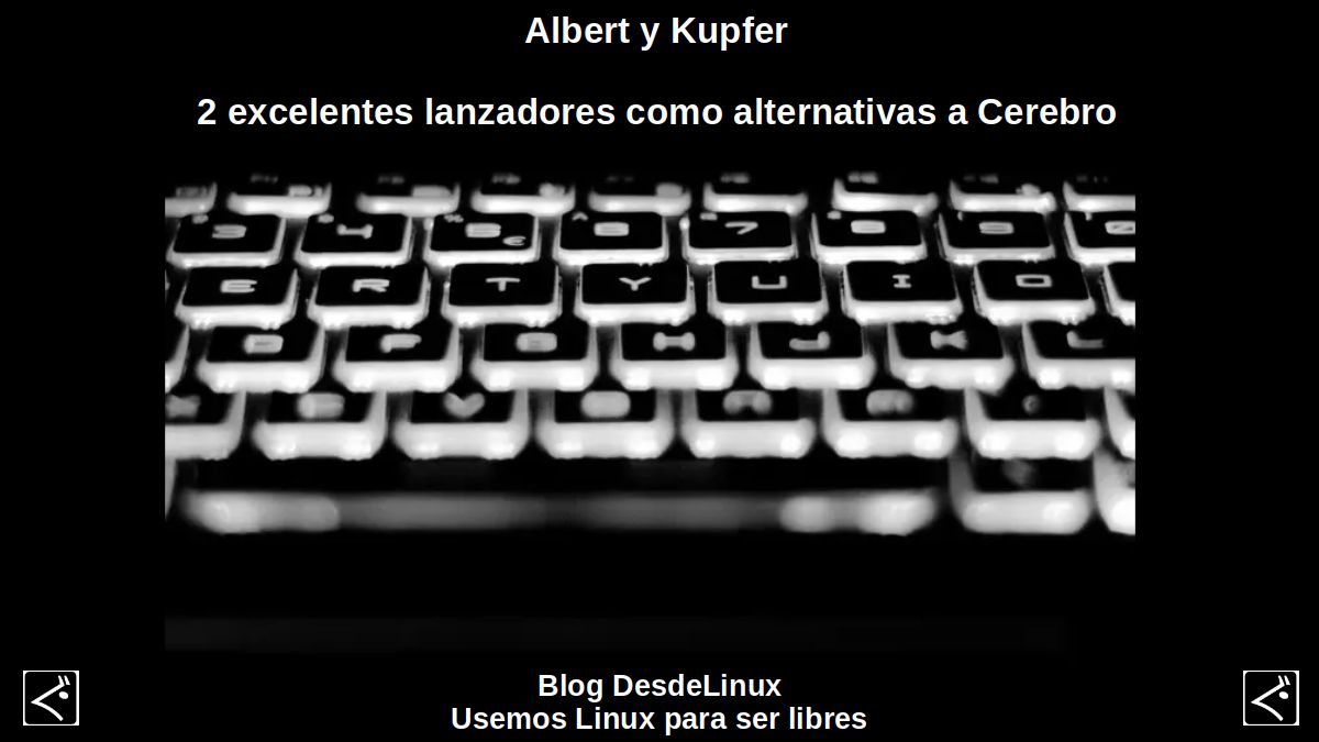 Albert y Kupfer: Productividad, Teclado Hotkeys