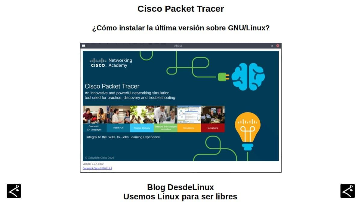Cisco Packet Tracer: ¿Cómo instalar la última versión sobre GNU/Linux?