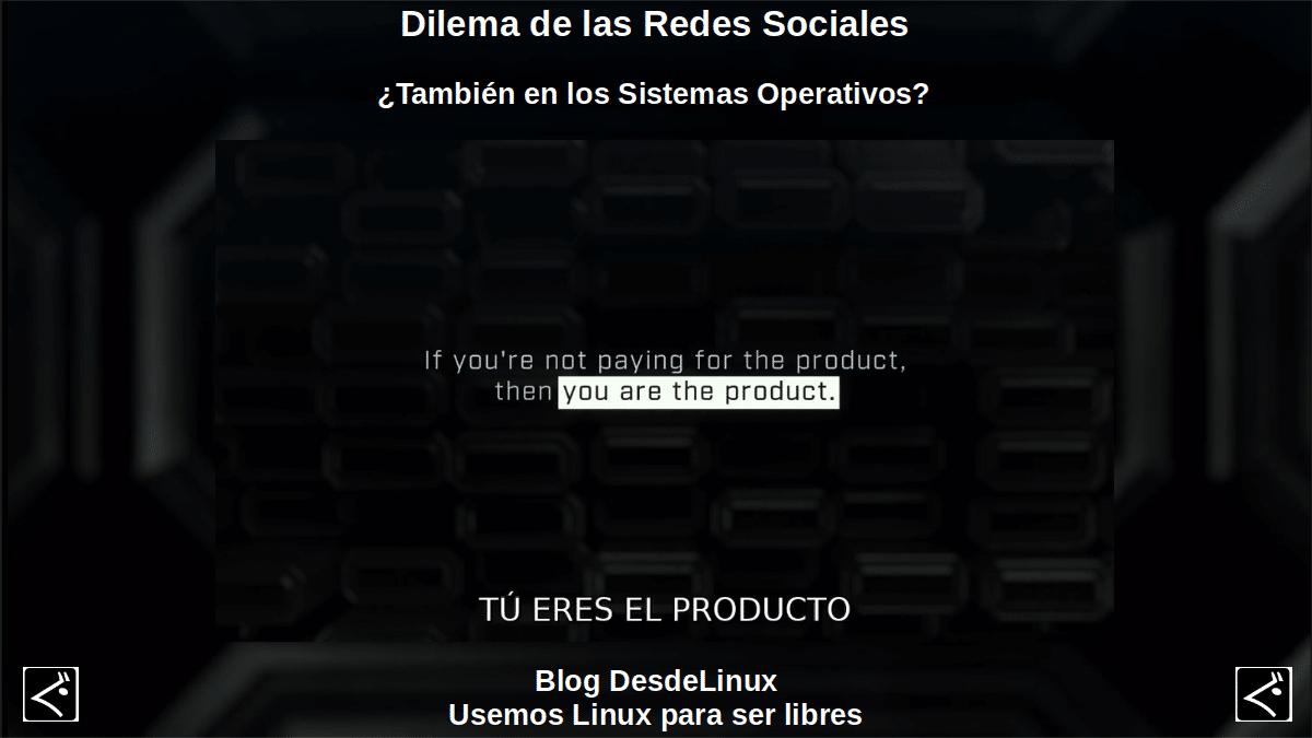Dilema de las Redes Sociales: Tu eres el producto
