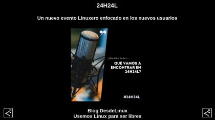 24H24L: Un nuevo evento Linuxero enfocado en los nuevos usuarios