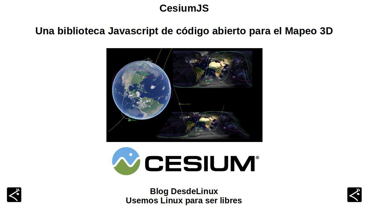 CesiumJS: Contenido