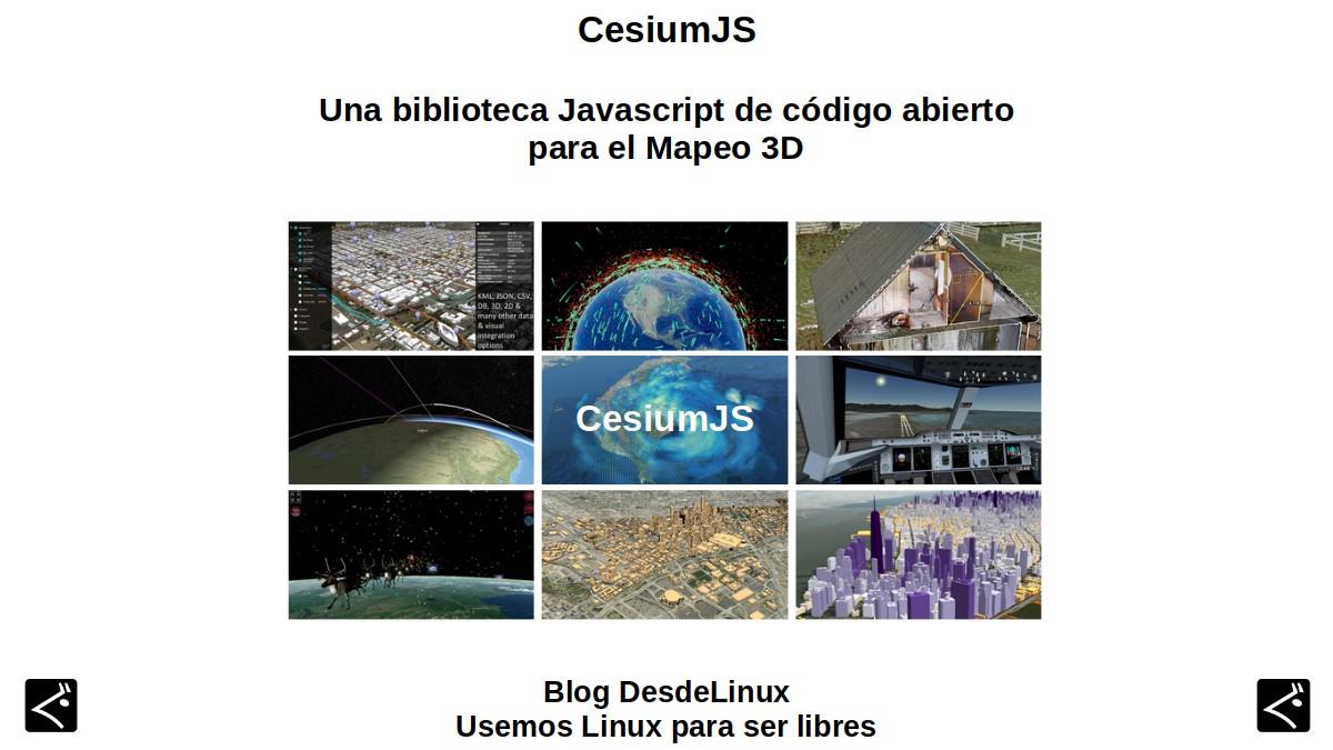CesiumJS: Una biblioteca Javascript de código abierto para el Mapeo 3D