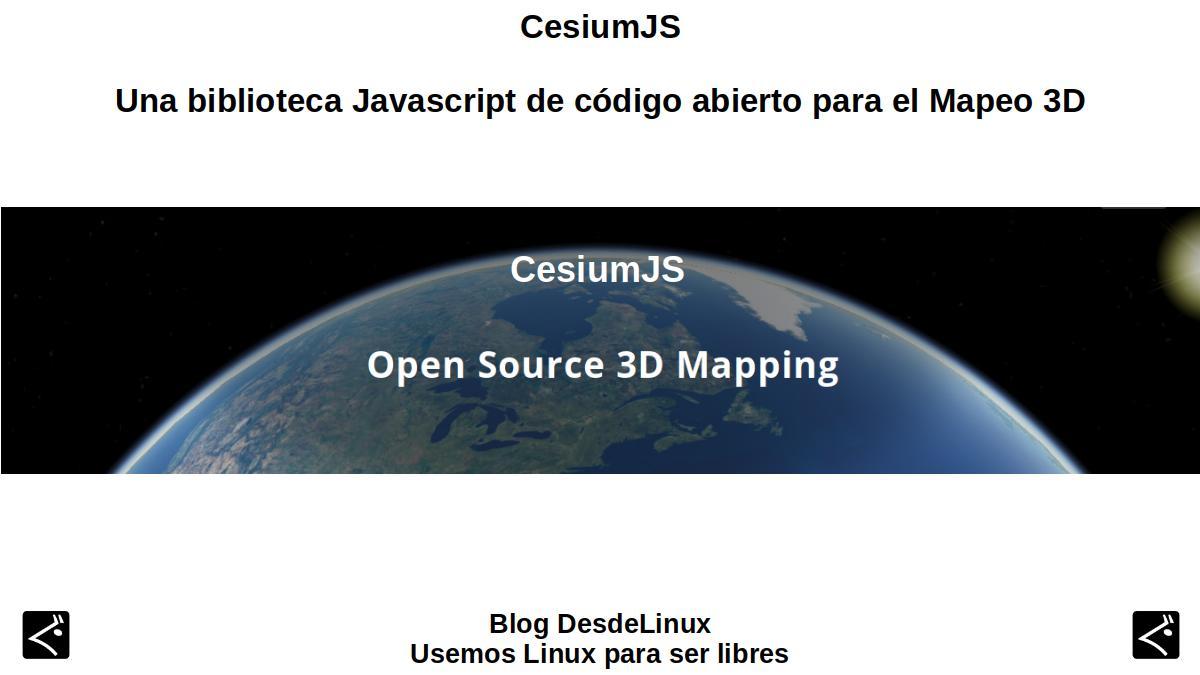 CesiumJS: Introducción