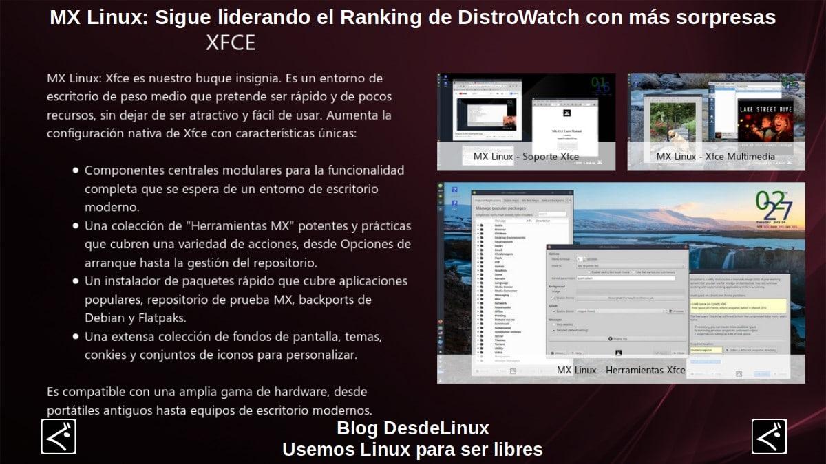 MX Linux: Novedades Octubre 2020