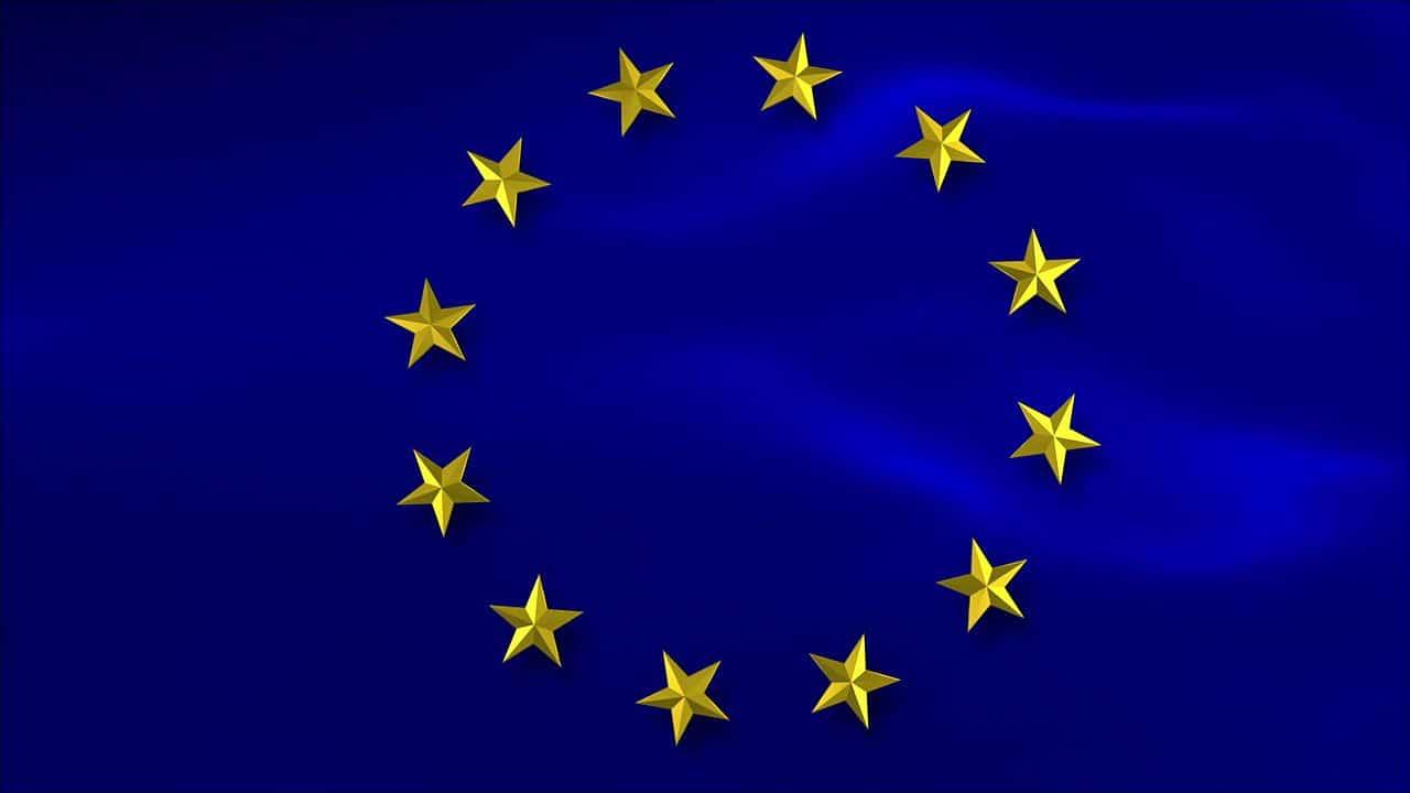 Bandera de la Unión Europea (EU)