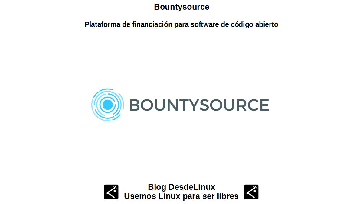 Bountysource: Plataforma de financiación para software de código abierto