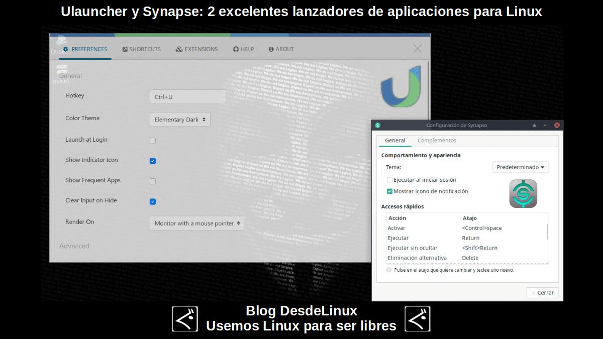 Ulauncher y Synapse: Contenido