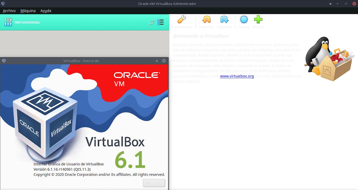 Virtualización: VirtualBox