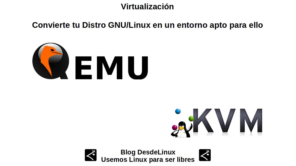 Virtualización: Qemu / KVM