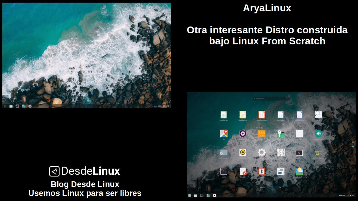 AryaLinux: Pantallazo 1
