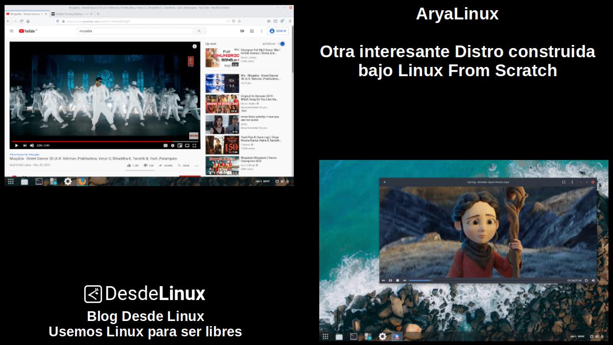 AryaLinux: Pantallazo 2
