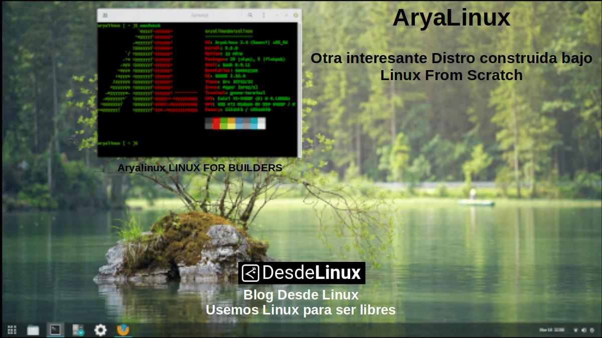 AryaLinux: Linux from Builders