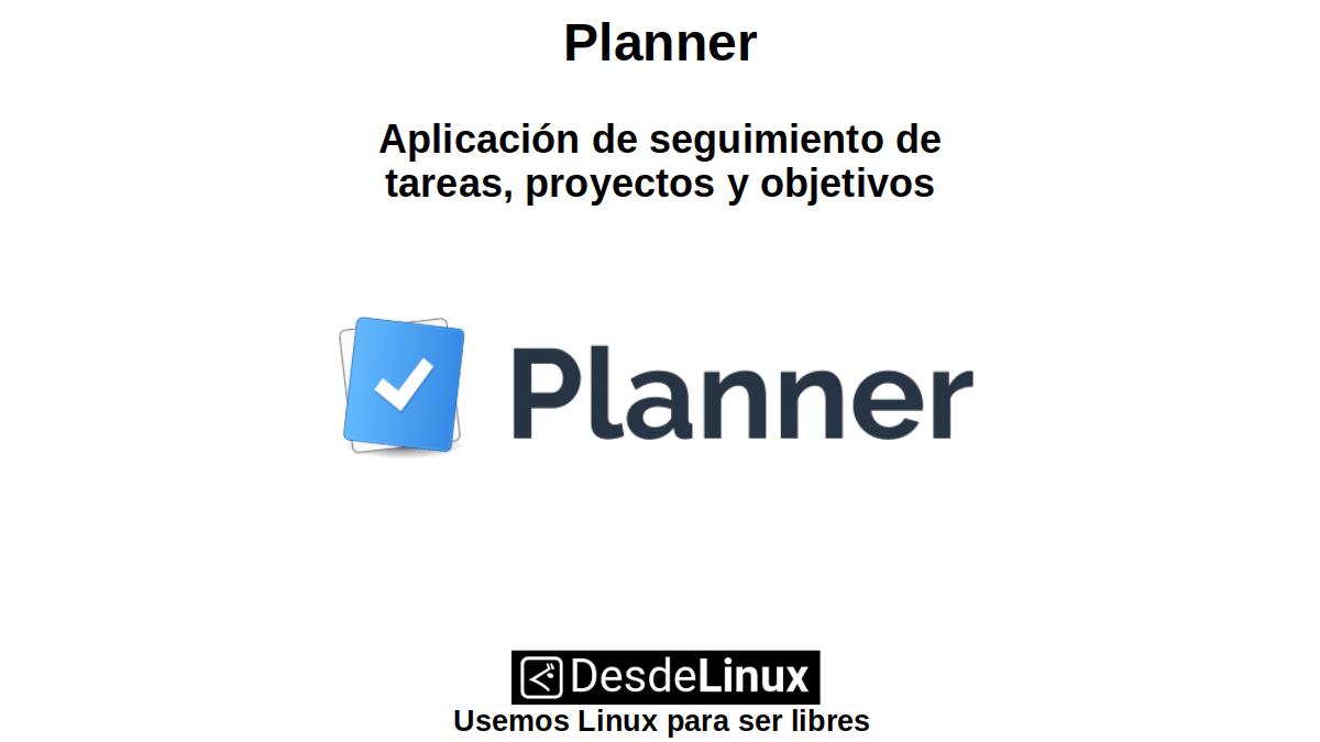 Planner: Aplicación de seguimiento de tareas, proyectos y objetivos