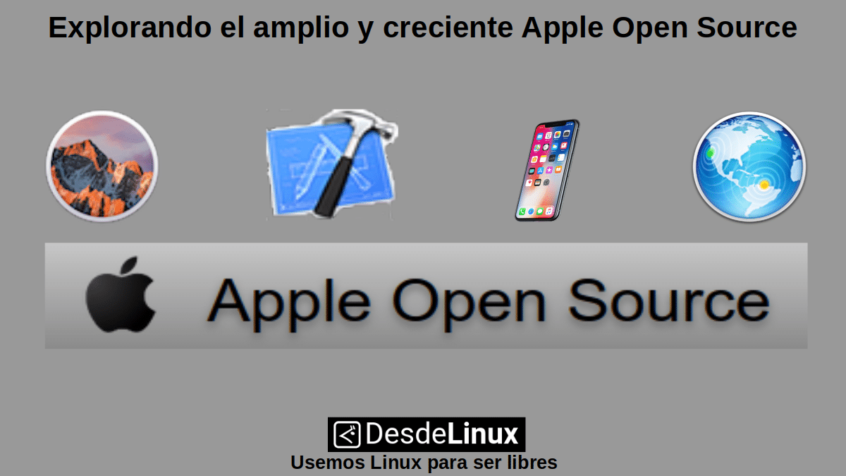 Explorando el amplio y creciente Apple Open Source