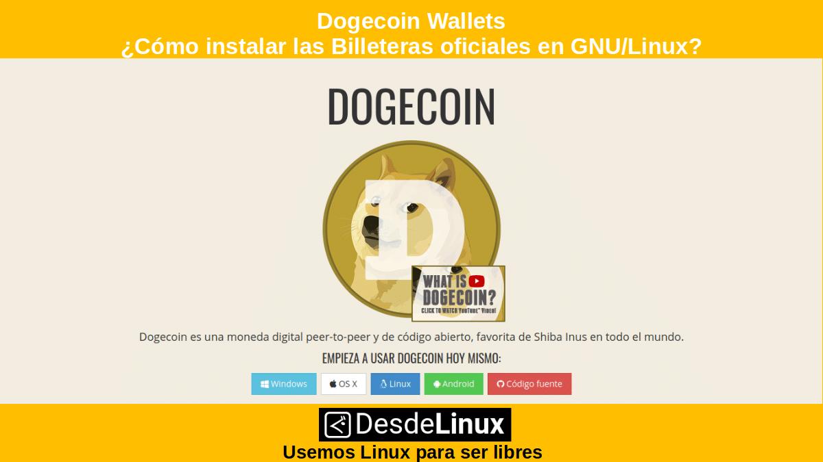 Dogecoin Wallets: Descargar