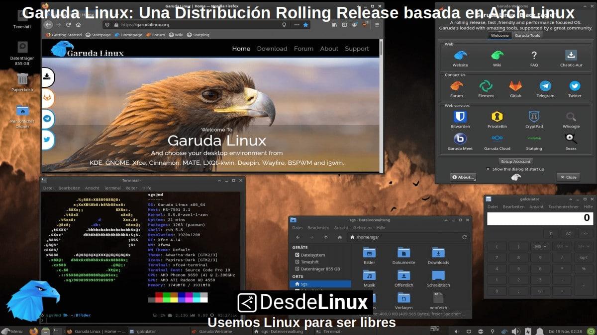 Garuda Linux: XFCE