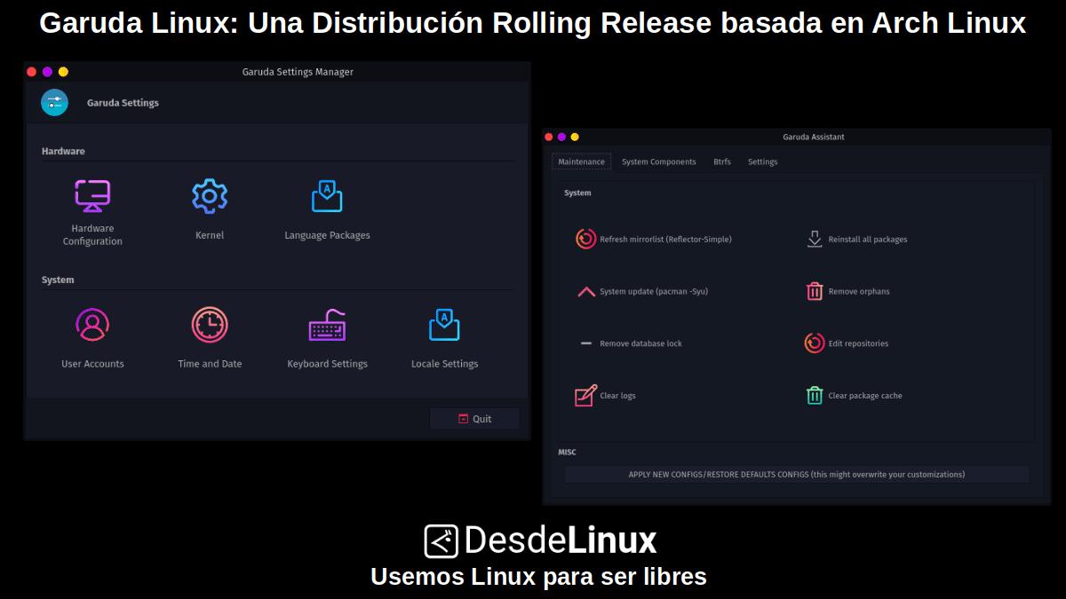 Garuda Linux: Pantallazo 3