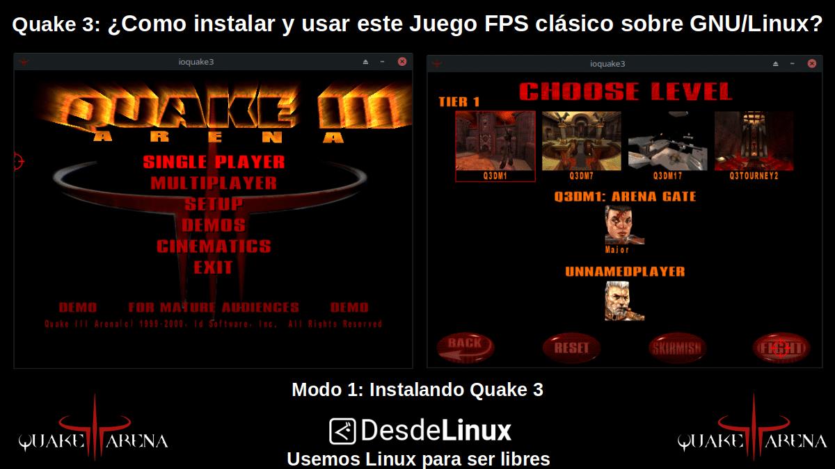Quake 3: Modo 1 - Instalando Quake3