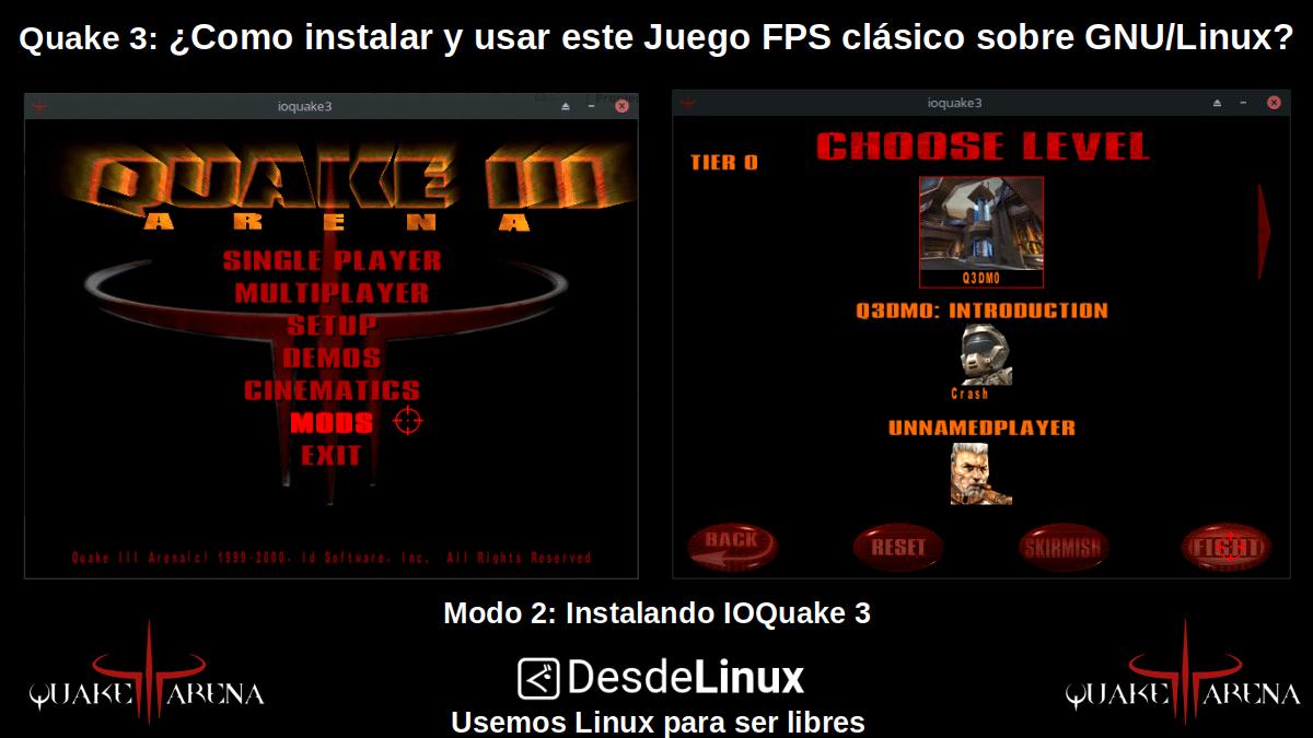 Quake 3: Modo 2 - Instalando IOQuake 3