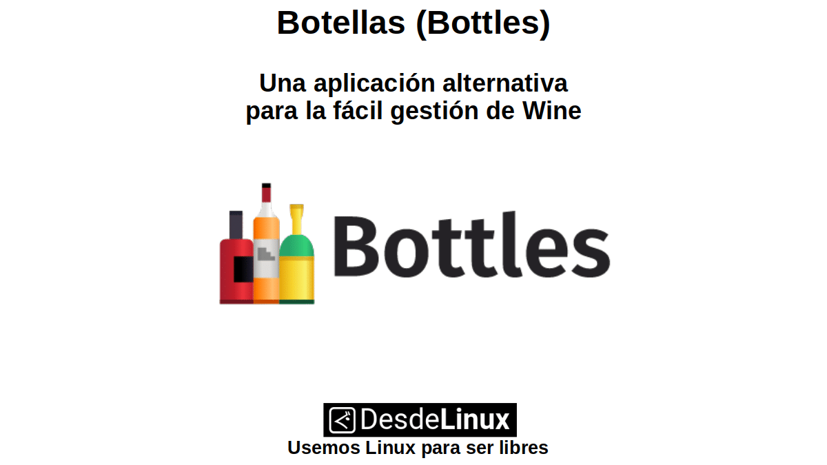 Botellas (Bottles): Una aplicación alternativa para la fácil gestión de Wine