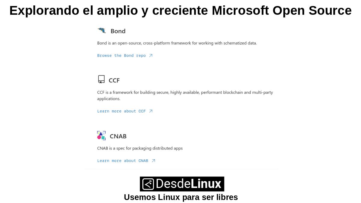 MOS-P2: Microsoft Open Source – Parte 2