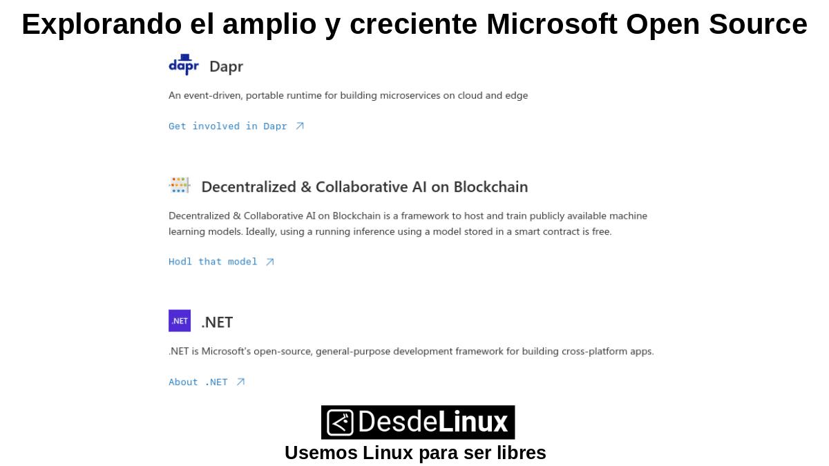 MOS-P3: Microsoft Open Source – Parte 3