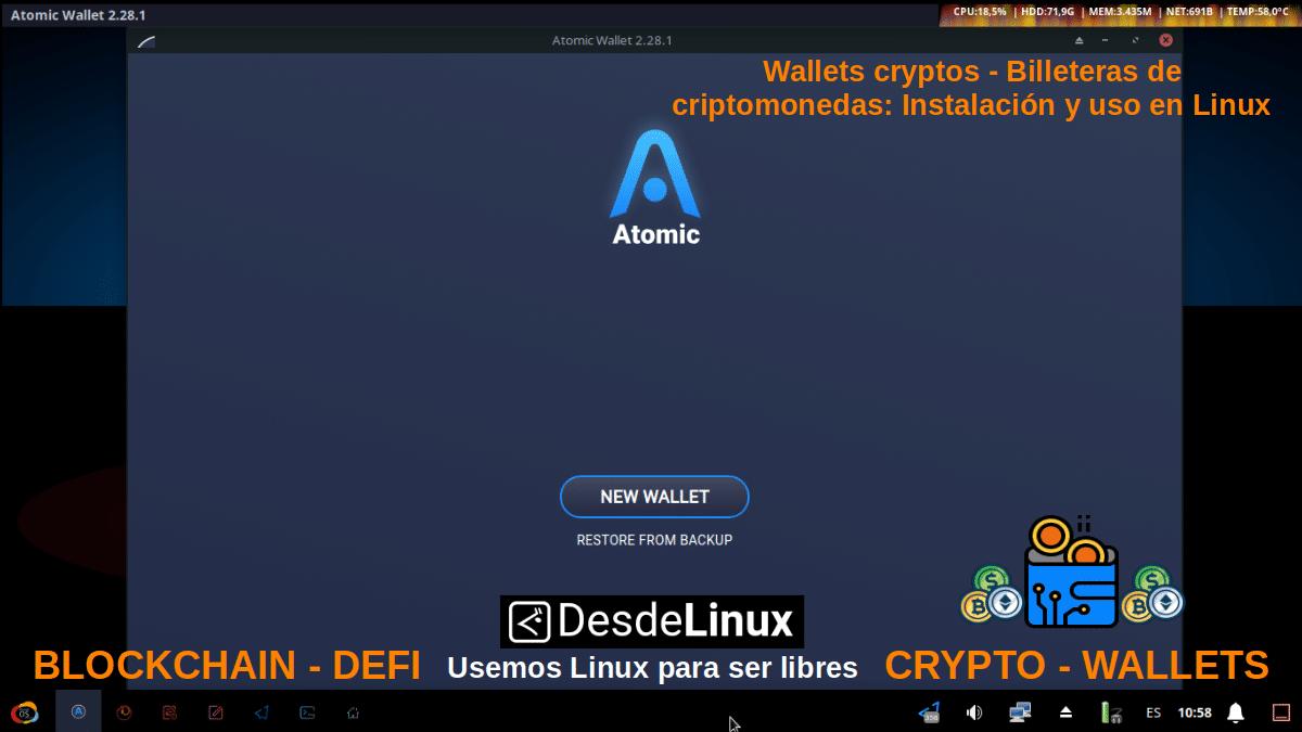 Atomic Wallet - Pantallazo 2